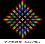 photo of the diffraction... | Shutterstock . vector #518929819