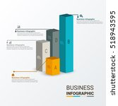 business infographic template.... | Shutterstock .eps vector #518943595