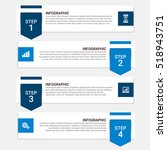 business infographic template.... | Shutterstock .eps vector #518943751