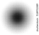 halftone circles  halftone dot... | Shutterstock .eps vector #518951089