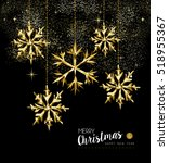 merry christmas and new year... | Shutterstock . vector #518955367