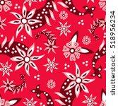 paisley seamless pattern.... | Shutterstock .eps vector #518956234