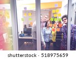startup business people group... | Shutterstock . vector #518975659