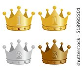 ranking  crown | Shutterstock .eps vector #518982301