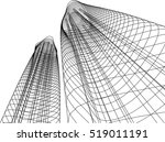 architectural drawing | Shutterstock .eps vector #519011191