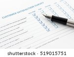 close up view of customer... | Shutterstock . vector #519015751