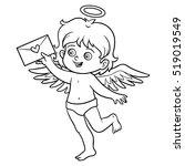 coloring book for children ... | Shutterstock .eps vector #519019549