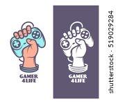 Gamer For Life T Shirt Design....