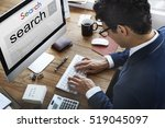 search engine optimization... | Shutterstock . vector #519045097