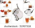 tea start flow to crystal...   Shutterstock . vector #51907318
