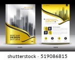 annual report brochure flyer... | Shutterstock .eps vector #519086815