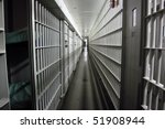 jail cells in a closed facility. | Shutterstock . vector #51908944