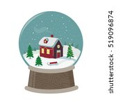 vector image of holiday... | Shutterstock .eps vector #519096874