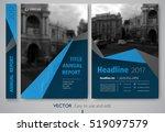 cover design annual report... | Shutterstock .eps vector #519097579