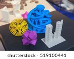 variety of plastic products... | Shutterstock . vector #519100441