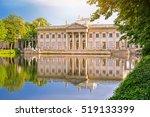 Lazienki Royal Palace In Warsa...
