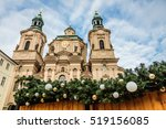 the church of st nicholas at... | Shutterstock . vector #519156085