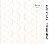 geometric vector pattern.... | Shutterstock .eps vector #519157045