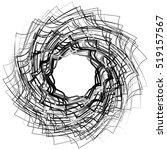 spirally abstract geometric... | Shutterstock .eps vector #519157567