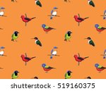 random american birds wallpaper ... | Shutterstock .eps vector #519160375
