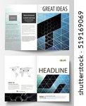 templates for bi fold brochure  ... | Shutterstock .eps vector #519169069