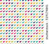 seamless geometric pattern with ... | Shutterstock .eps vector #519174841
