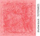 pink rough background. grunge... | Shutterstock .eps vector #519206821