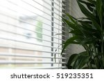 Silhouette Of Windows Blinds...