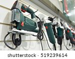 electric tools for construction ... | Shutterstock . vector #519239614