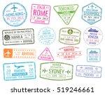 international business travel... | Shutterstock . vector #519246661