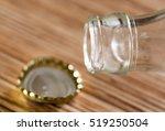 bottle with lid. macro | Shutterstock . vector #519250504