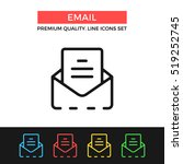 vector email icon. e mail  mail ...