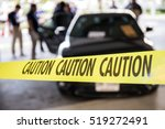 caution tape or police line... | Shutterstock . vector #519272491