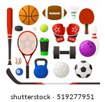 vector illustration. set of... | Shutterstock .eps vector #519277951