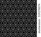 art deco seamless background. | Shutterstock .eps vector #519278374