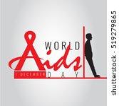 aids logo or symbol for world...   Shutterstock .eps vector #519279865