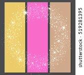 vector background of glowing... | Shutterstock .eps vector #519281395