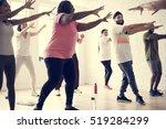 exercise international group...   Shutterstock . vector #519284299