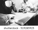 co worker website designers... | Shutterstock . vector #519285925