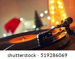 image of christmas. turntable... | Shutterstock . vector #519286069