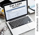 Small photo of Car Loan Finance Application Money Concept