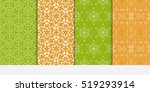 set of floral ornament for your ... | Shutterstock .eps vector #519293914