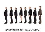 man without pants standing on a ... | Shutterstock . vector #51929392