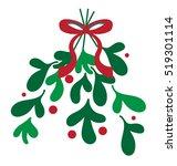 mistletoe | Shutterstock .eps vector #519301114