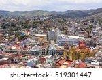 colorful town guanajuato | Shutterstock . vector #519301447