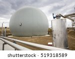 Natural Gas Tank. Oil And Gas...