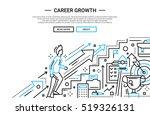 illustration of modern plain... | Shutterstock . vector #519326131