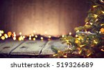christmas holiday background ... | Shutterstock . vector #519326689