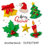 hand made colored plasticine... | Shutterstock . vector #519327349