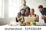 healthy lifestyle diet... | Shutterstock . vector #519336184